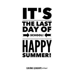 I'm going to miss my students like crazy but I am looking forward to this break!    #summerbreak #lastdayofschool #wemadeit #iteachk #tptehteam #spms4life #canadianteacher