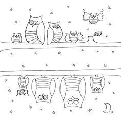stitching pattern for both sides of a pencil case. Cute!