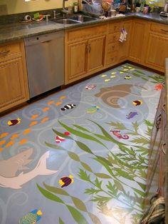 Kitchen Mats Studio Fish Motives Of Kitchen Mats