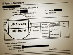 US military leak exposes 'holy grail' of security clearance files