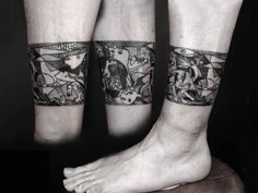 Tattoo Re-Creations of Famous Works of Art | Illusion Magazine