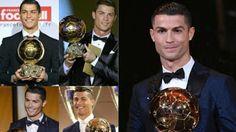 منوعات monawa3atte: كريستيانو رونالدو يتوج بالكرة الذهبية للمرة الخامس...