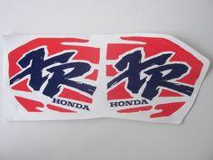 Honda XR 250R, XR250,  1993 - 1994  Tank decals!!! stickers