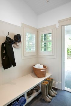 JodiFoster | waterfront Custom cabinets by Wesley Ellen Design & Millwork