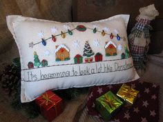 It's Beginning to Look a Lot Like Christmas Pillow