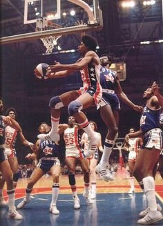 """Dr. """"J"""" Julius Irving~ one of the greatest in basketball history!"""