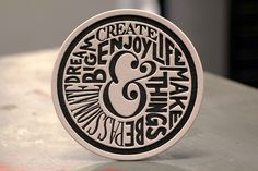 Neenah Paper presents the extraordinary beauty of letterpress printing Typography Inspiration, Typography Design, Design Inspiration, Sous Bock, Neenah Paper, Word Fonts, Paint Your Own Pottery, Design Palette, Beer Coasters