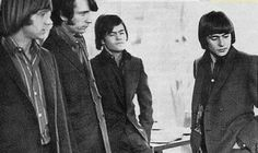Peter Tork, Mike Nesmith, Micky Dolenz, Davy Jones (The Monkees)