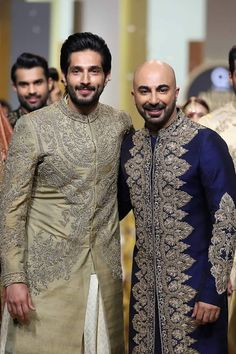 King of Couture Hassan Sheheryar Yasin 2017 Bridal Couture Section titled '1909' at QMobile HUM Bridal Couture Week in Karachi.