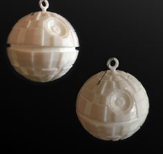 3D printed Death Star Ornament inspired by Star Wars