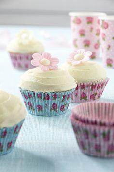 Capsulas para cupcakes Vintage Rose 100 unidades.http://pinterest.com/martablasco/online-shopping-home/