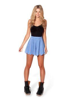 Gingham Blue Shorties