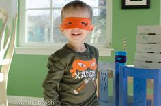 ninja turtle birthday party ideas | ... party! Now I have 1 month to plan the next birthday party. Time to get