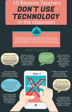 10 reasons teachers do NOT use education technology - Daily Genius Middle School Science, Elementary Science, Elementary Education, Art Education, Higher Education, Instructional Technology, Educational Technology, Instructional Strategies, Instructional Design