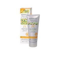 Andalou Naturals Beauty Balm Sheer Tint with SPF 30 Brightening – 2 oz