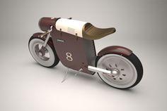 乗れなくても飾って眺めているだけで大満足、みたいな。レトロな雰囲気漂うコンセプトバイク「Monocasco」は、家の中に飾ってお...