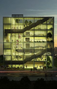 Globant Headquarters Tandil - First Prize