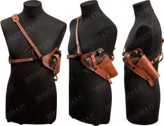 Leather Shoulder Holster Rick O Connell The Mummy By