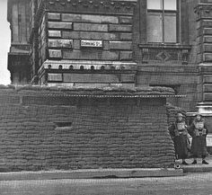Downing Street during the war