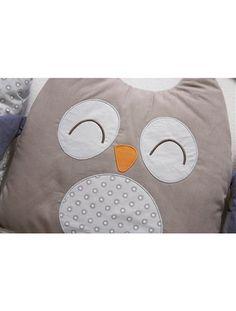 Tour de lit modulable bébé thème nocturne BLEU