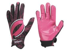 Wilson Hope Football Receiver Gloves  available at #Big5