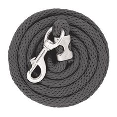 """Weaver Leather Poly Lead Rope with Chrome Brass Snap Features Same great"""" x poly lead design you know and love with a chrome brass snap for modern style Measures x Horse Gear, Horse Tips, Horse Halters, Horse Saddles, Western Horse Tack, Western Saddles, Horse Lead Rope, Equestrian Style, Equestrian Problems"""