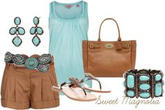 """""""Turquoise"""" by pjm27 on Polyvore"""