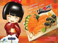 Hot and Roll Cozinha Japonesa | Anúncio