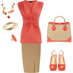 Love coral..... And definitely spring..... Very breezy......