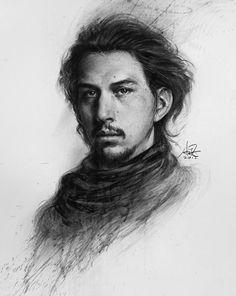 Kylo Ren Portrait by Artgerm on @DeviantArt