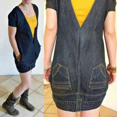 Kleid aus Jeans