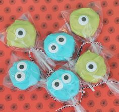 Mike & Sulley Halloween Treats!