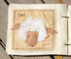 PATTERN for On The Farm Quiet Book - .PDF. $8.50, via Etsy.