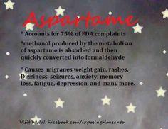 Dangers of aspartame