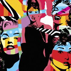 Audrey Hepburn & Marilyn Munroe