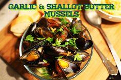 15thFloorFood - Garlic Shallot Butter Mussels