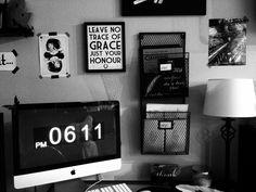 new desk setup at home....