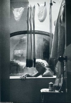 Bathroom Eve Arnold