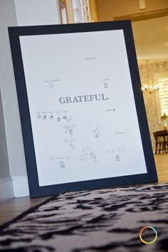 Tips from a Typical Mom: A Family Project: Gratitude