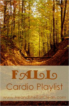 Does the nice crisp air of fall make you want to exercise outside? If so, give this playlist a try. It will take you right through 30 minutes of your workout! Turn it up and get moving! For more workouts and playlists visit HeandSheEatClean.com. #playlist #cardio #workout #heandsheeatclean #fitness #fall #running