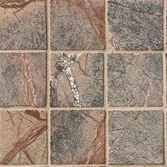 Cafe Forest Marble 2x2 Tumbled Tile - Mosaics