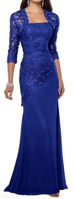 Elegant Evening Dress with Jacket #Eleganteveningdress