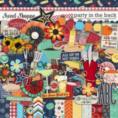 Party in the Back by Traci Reed & Melissa Bennett- will be perfect for my housewarming party pictures