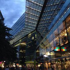 Berlin Times Square, Berlin, Multi Story Building, Travel, Instagram, Viajes, Destinations, Traveling, Trips