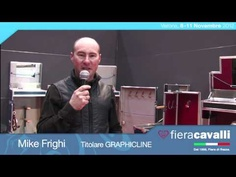 Intervista a Mike Frighi di Graphicline #fieracavalli