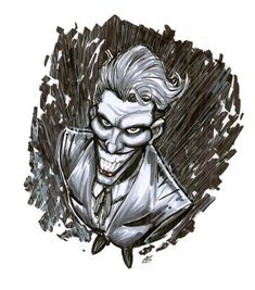 A Sketchy Joker by BigChrisGallery
