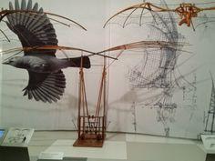 A Estrambólica Arte = ciência + tecnologia + arte: Leonardo da Vinci – Asas à imaginação