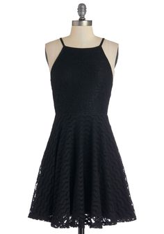 Local Talent Dress. She sings, she dances, and she styles herself sweetly in this black dress by Mink Pink! #black #modcloth