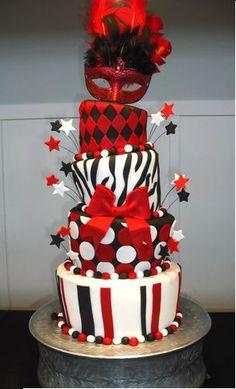 masquerade-quinceanera-cake.