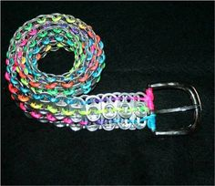 Make Your Very Own Soda Can Tab Belt Using Soda Can Rings